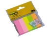 MINI BLOCO DE NOTAS ADESIVAS POST-IT 15 X 50 MM CORES SORTIDAS PACK 36 UNIDADES